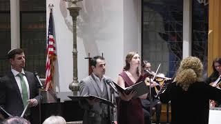 JTS Cantorial School Senior Recital - Oseh Shalom 01.30.20