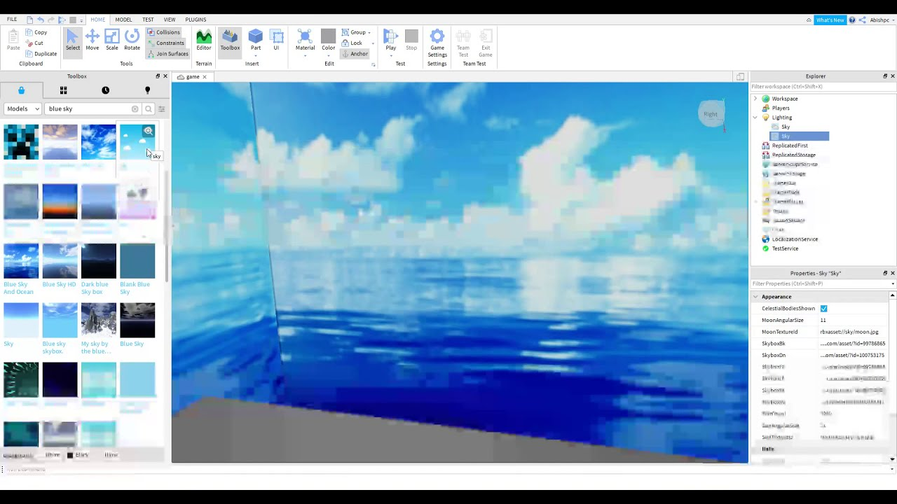 How To Change The Sky In Roblox Studio 2020 Youtube