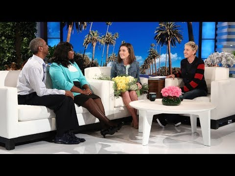 Ellen Chats with Reporter Brandi Smith & the Man She Helped Save in Hurricane Harvey