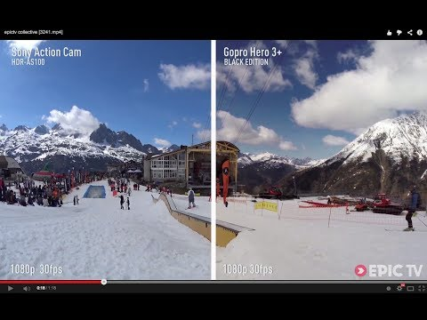 Sony Action Cam HDR-AS100 VS GoPro Hero3+ Black Edition Review | EpicTV Gear Geek