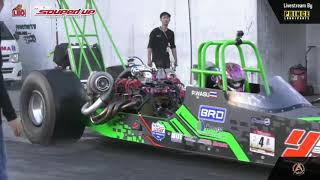Final  Race 1 : Super Dragster Benzene | Souped Up 2019