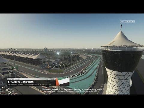 "F1 2015 Mundial Online // #18 ( GP Abu Dabi ) "" Cerdos Everywhere "" EN 2.0"