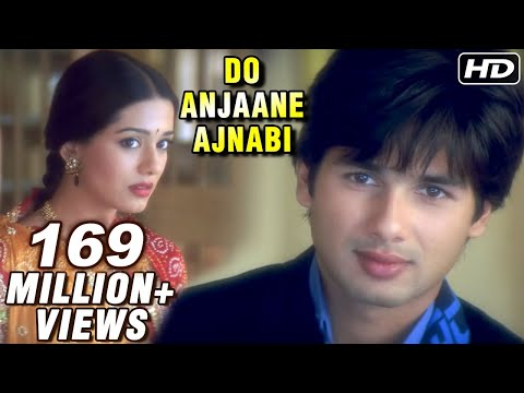 Do Anjaane Ajnabi  Vivah  Shahid Kapoor, Amrita Rao  Old Hindi Romantic Sgs