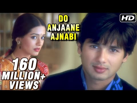 Do Anjaane Ajnabi  Vivah  Shahid Kapoor, Amrita Rao  Old Hindi Romantic Songs