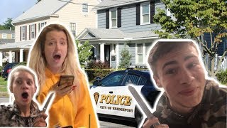our home got vandalized and i got it all on tape... *cops came*