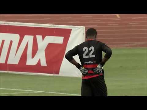 Denzil 'peng' Smith shiva boys college goalkeeper