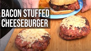 Bacon Sausage Cheeseburgers Recipe By The Bbq Pit Boys