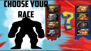 Classic WoW: Picking Your Race!