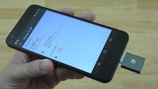 Meenova Mini MicroSD Reader Redux: Type-C, Aluminum, Reversible (Nexus 5X)