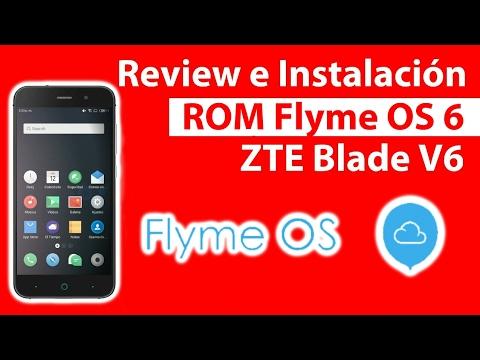Review e Instalación Android 5.1.1 ZTE Blade V6 / ROM Flyme OS 6 / DumTutos