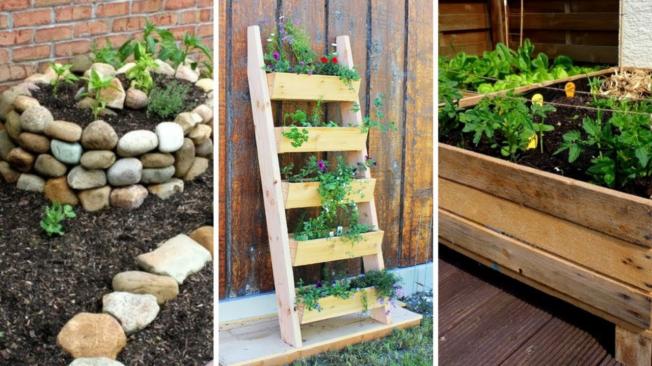 5 DIY Projects for Small Garden: Improving Your Garden in ...