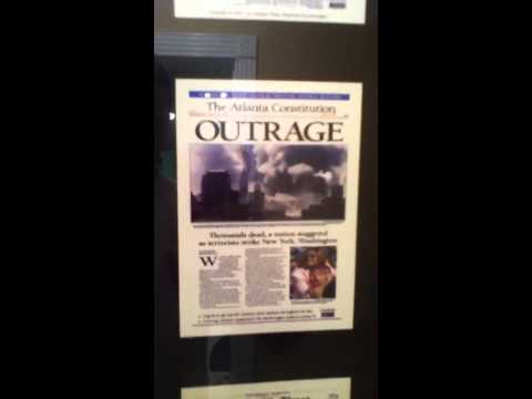9/11/01 Newspapers Poster