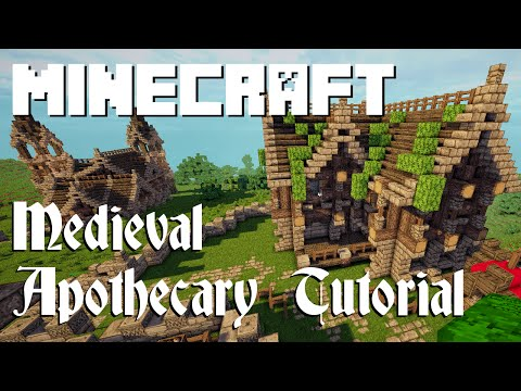 Minecraft Tutorial: Medieval Apothecary