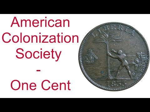 American Colonization Society - One Cent