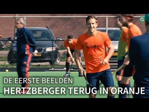 Hertzberger als een kind zo blij over terugkeer in Oranje