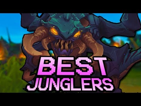 Best Junglers in League of Legends RIGHT NOW