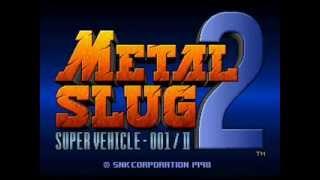 Metal Slug 2 X OST Steel Beast 6Beets Boss MIXED EXTENDED