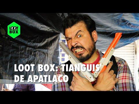 Loot Box: Entre consolas y cartuchos en el tianguis de Apatlaco | BitMe
