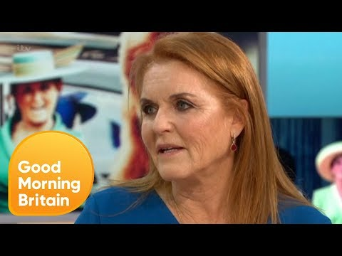 Sarah Ferguson Reflects on Princess Eugenie's Wedding | Good Morning Britain