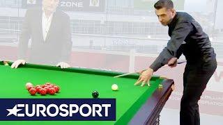 Mark Selby's MASTERCLASS on Splitting the Pack!   Northern Ireland Open 2018   Snooker   Eurosport