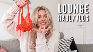 Lounge Underwear Haul/Vlog | Fashion Influx | AD thumbnail