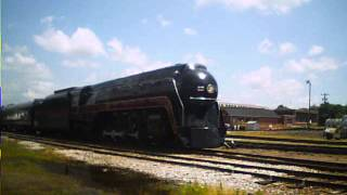 N&W J-Class 4-8-4 611 & Powhatan Arrow Cars 5/31/14 Spencer, NC NCTM AWESOME!!!