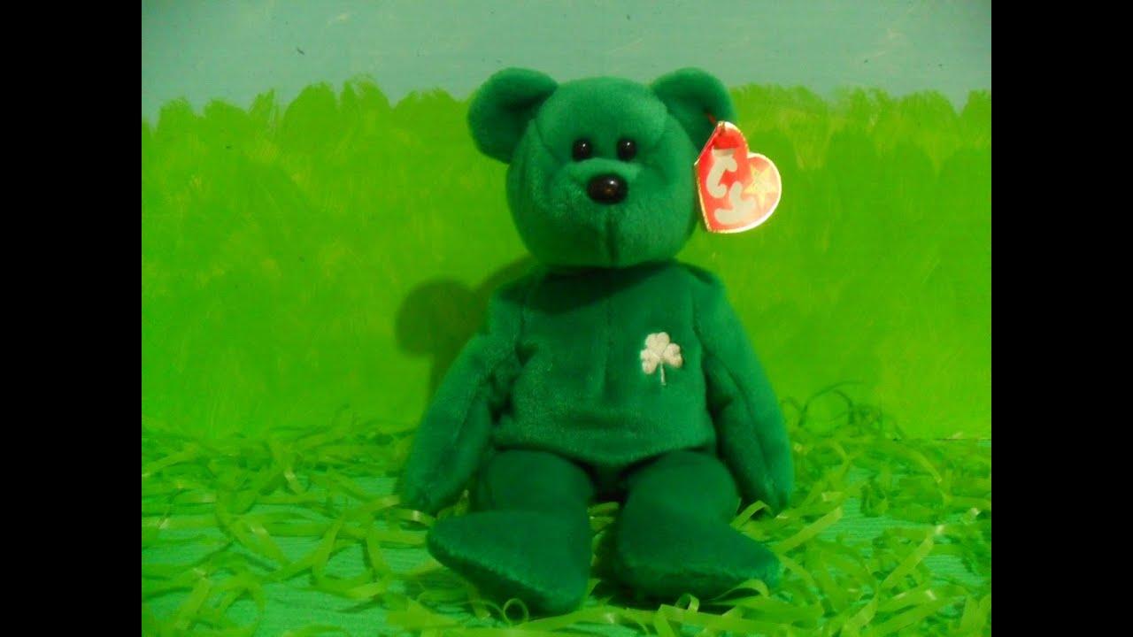 54a521b45ae Ty Beanie Baby ERIN (1997) - YouTube