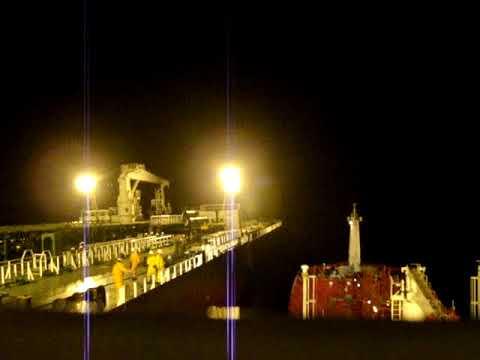 Bunkering offshore West Africa