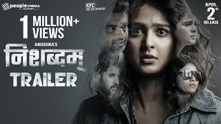 Nishabdham Trailer - Hindi | Anushka Shetty, R Madhavan | Silence Movie Trailer