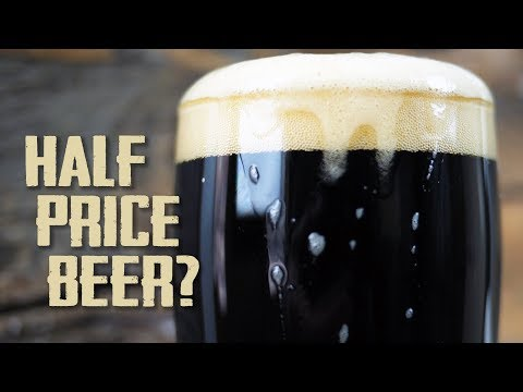 Half Price Beer // The Cost Of Homebrew