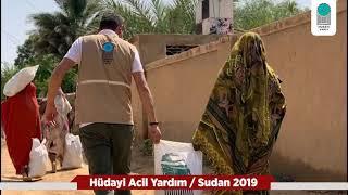 SUDAN'DA SEL MAĞDURLARINA EL UZATTIK