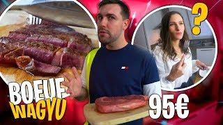 Je cuisine et goûte une viande à 95€ pour la première fois ! Dégustation Bœuf Wagyu