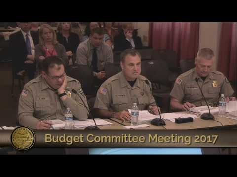 Sheriff's Office Budget Presentation 2017