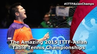 The Amazing Asian Table Tennis Championships