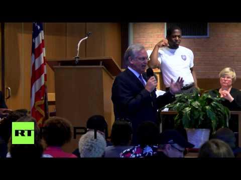 USA: 'Ferguson public has right to express emotional energy' - Missouri governor Jay Nixon