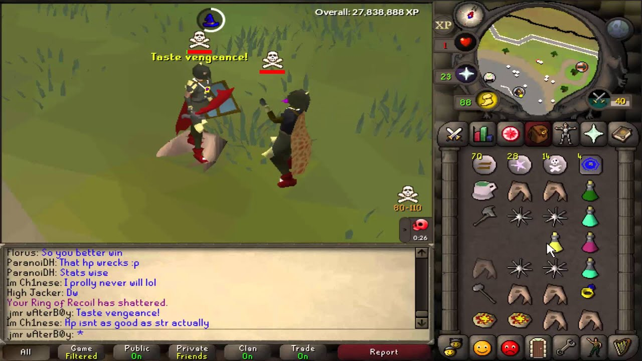 [OSRS] obby pure pking #2