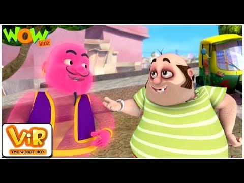 Vir The Robot Boy | Hindi Cartoon For Kids | Timbaktoon ka jinn | Animated Series| Wow Kidz