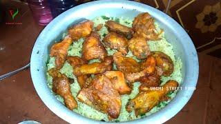chicken mandi | muchboos chicken bahrain recipe | arabian dish chicken maqlooba | how to make kabsa