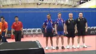 Награждение пары 40-49 Чемпионат Мира Новая Зеландия