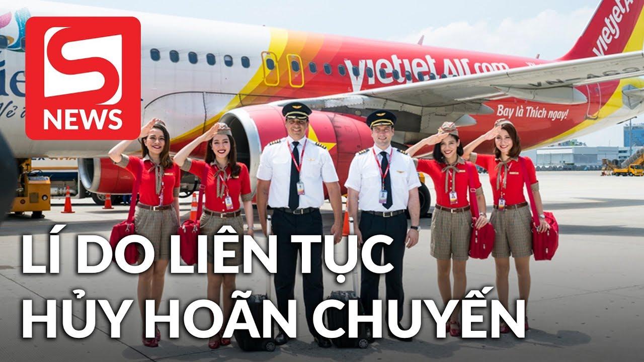 Phi công VietjetAir đình công dẫn đến delay và hủy chuyến hàng loạt? - YouTube