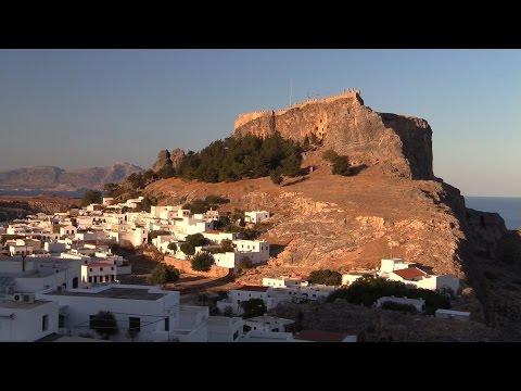 Griechenland/Rhodos: Lindos und die Akropolis von Lindos