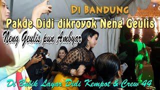 Download lagu Neng Geulis pun ikut Ambyar Di Balik Layar DK & Crew 44 //  Live Bandung