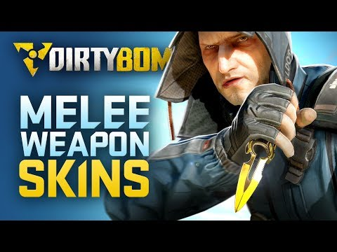 Dirty Bomb: Melee Weapon Skins