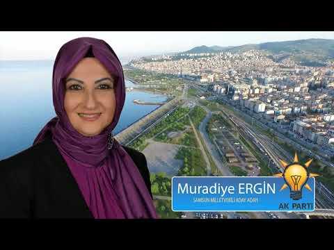 AK Parti Samsun Milletvekili Aday Adayı Muradiye Ergin Tanıtım Filmi