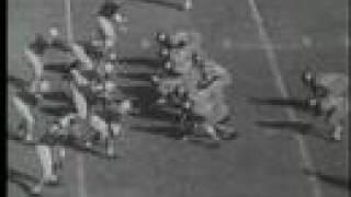 Duke vs. Navy Football 1960