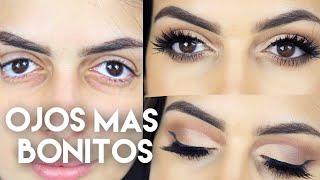 Cómo Maquillar tus ojos y que se vean mas lindos /Jeka Channel