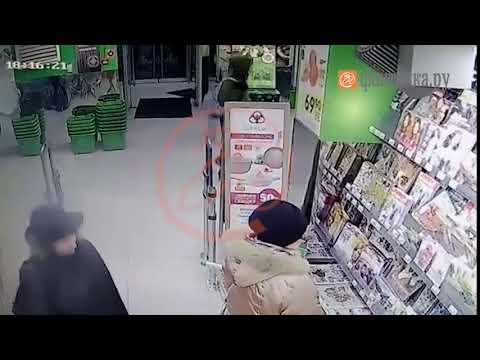 В Санкт-Петербурге прогремел взрыв в супермаркете Эксклюзивные кадры  Подозреваемый попал на видео