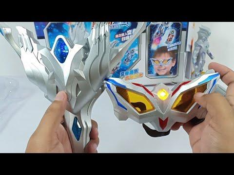 Unboxing Mainan Ultraman Zero