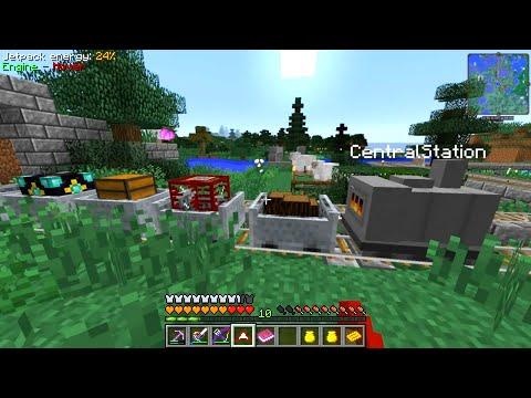 Etho's Modded Minecraft #59: More Train Logic