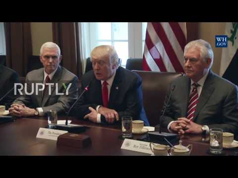 USA: Al-Abadi seeks 'stronger relationship' with Trump as travel-ban rift recedes